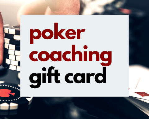 Poker Coaching Gift Card