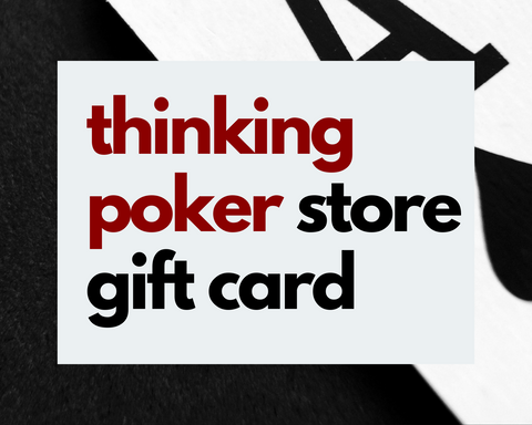 Thinking Poker Store Gift Card