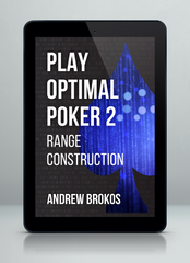 Play Optimal Poker 2 by Andrew Brokos - e-book