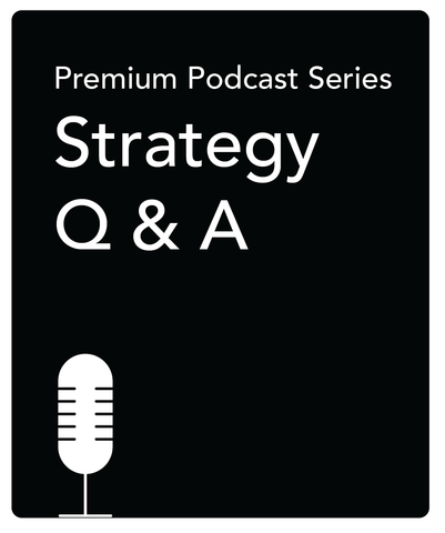 Special Podcast: Listeners' Strategy Q & As