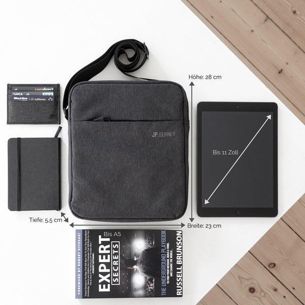 Shoulder bag for iPad / tablet - These tablets fit in