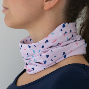 Multifunctional cloth, UV protection, recycled, pink