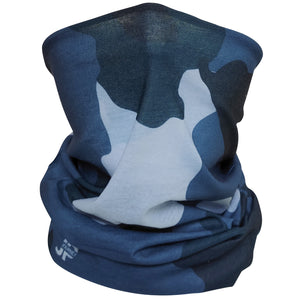 Multifunctional Cloth, UV 50 Protection, Camouflage Blue