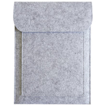 Load image into Gallery viewer, Tablet sleeve made of felt up to 11 inches, light grey