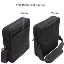 "Load image into Gallery viewer, ""Daybag 11"" shoulder bag, tablet compartment up to 11 inches"