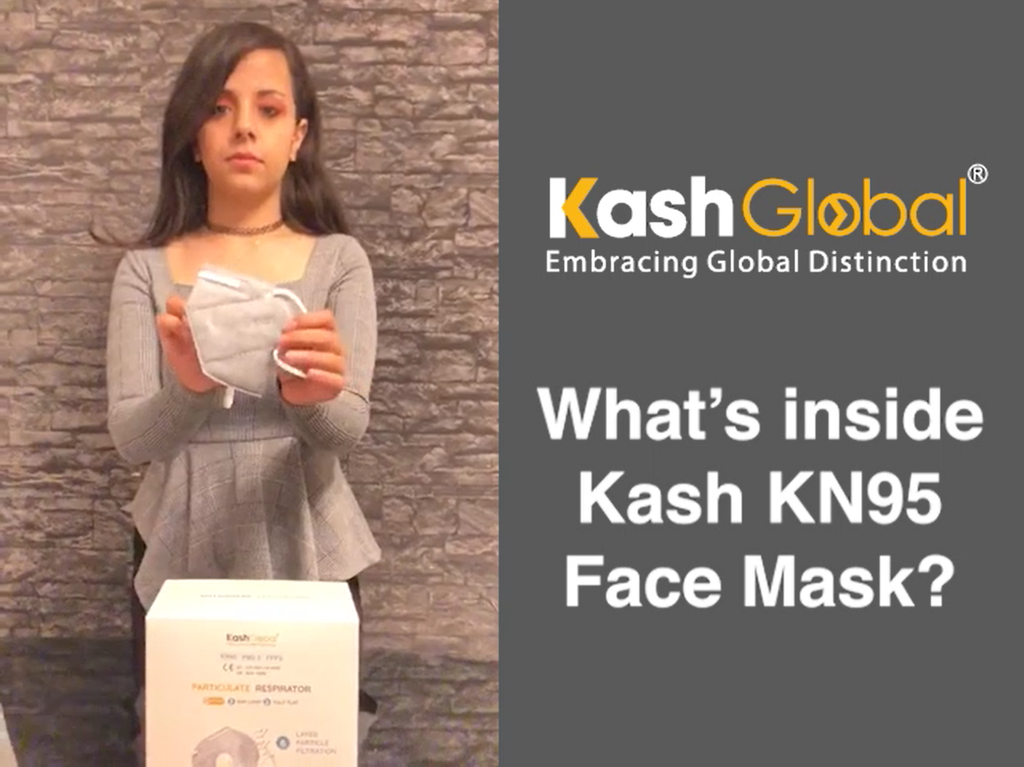 What's inside Kash KN95 Face Mask?