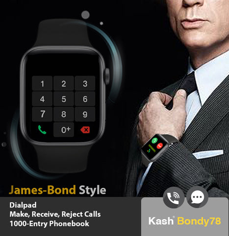 bluetooth smartwatch ios compatible