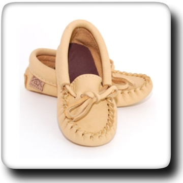 Moose Hide Moccasins 126J