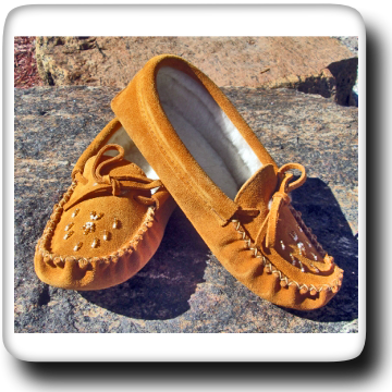 Suede Moccasin - 7485L Indian Tan