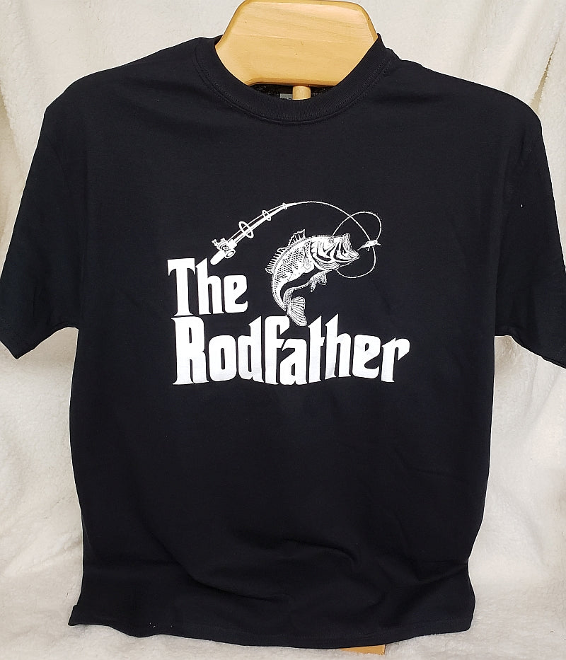 Rodfather T-Shirt Black G414