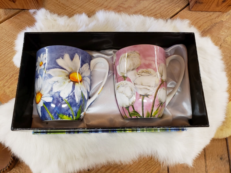 Morning Flowers Mug Set of 2 MC0181