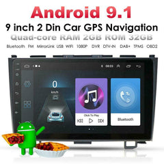 9'' Android 9.1 Car Stereo Radio 2GB+32GB GPS OBD For HONDA CRV CR-V 2006-2011