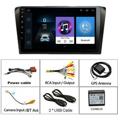 9'' Android 9.1 Car Stereo Radio GPS 1+16GB OBD For Mazda 3 2004-2009 w/ Canbus