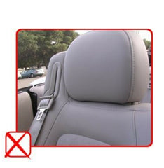 PU Leather 2 Car Seat Cover Compatible to Toyota Tacona 859 Bk/Tan