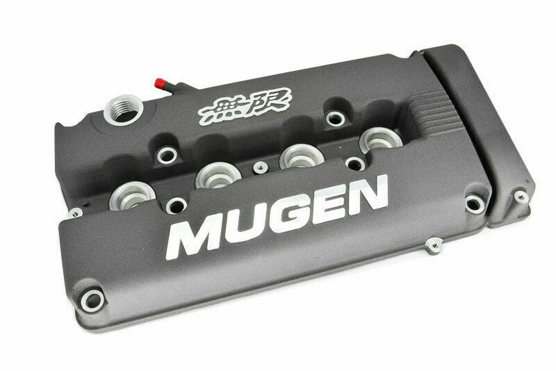 MUGEN Style Engine Valve Cover For Honda Civic B16 B17 B18 VTEC B18C DOHC Grey