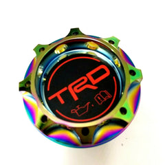 TRD Racing NEO-CHROME Engine Oil Filler Cap Oil Tank Cover Aluminium For TOYOTA