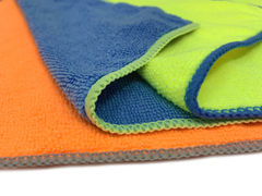 Towels 3 Pcs Microfiber Cleaning Cloth No Scratch Rag Car Polishing Detailing