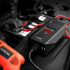 POTEK 750W Power Inverter 12 Volt DC To 110 Volt AC Car Adapter& 2 USB