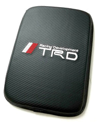 BRAND NEW TRD Carbon Fiber Car Center Console Armrest Cushion Mat Pad Cover