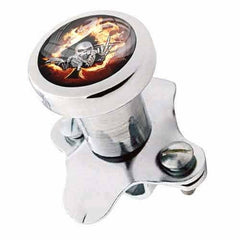 Steering Wheel Spinner Suicide Brody Knob Rod Car Truck - SKULL FIRE SPADE FU
