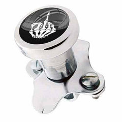 Polished Steering Wheel Spinner Suicide Brody Knob Rod Car Truck SKULL FINGER FU
