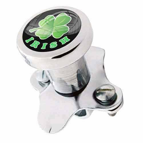 Steering Wheel Spinner Suicide Brody Knob Rod Car Truck IRISH LUCKY CLOVER