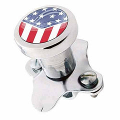 Polished Steering Wheel Spinner Suicide Brody Knob Rod Car Truck - USA FLAG SLNT