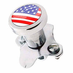 Polished Steering Wheel Spinner Suicide Brody Knob Rod Car Truck - USA FLAG