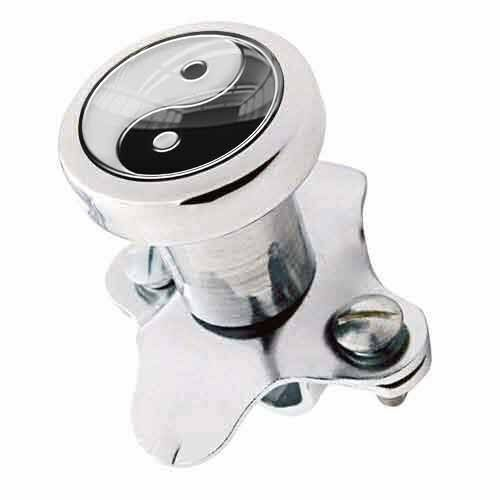 Polished Steering Wheel Spinner Suicide Brody Knob Rod Car Truck - YIN YANG GB