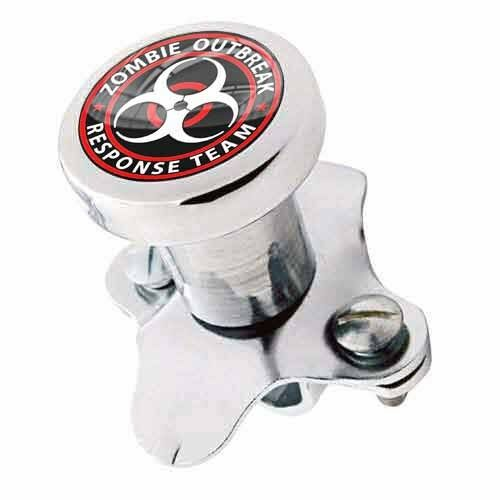Polished Steering Wheel Spinner Suicide Brody Knob Rod Car Truck ZOMBIE OUTBREAK