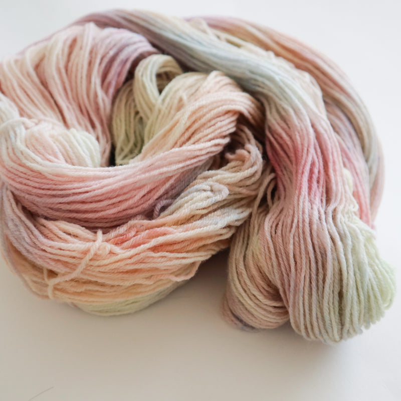 Yume on Peruvian Wool Sock