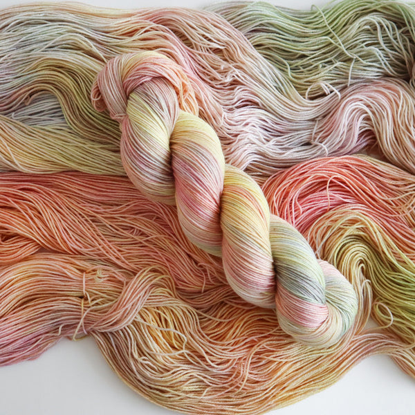 Yume on Superwash Merino Nylon Sock