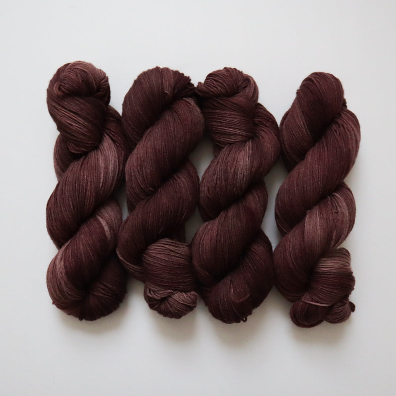 Bramble on Peruvian Wool Sock