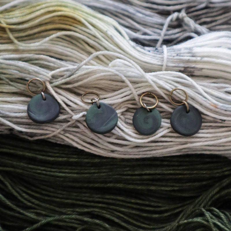 Preorder - Nori Handmade Clay Stitch Markers