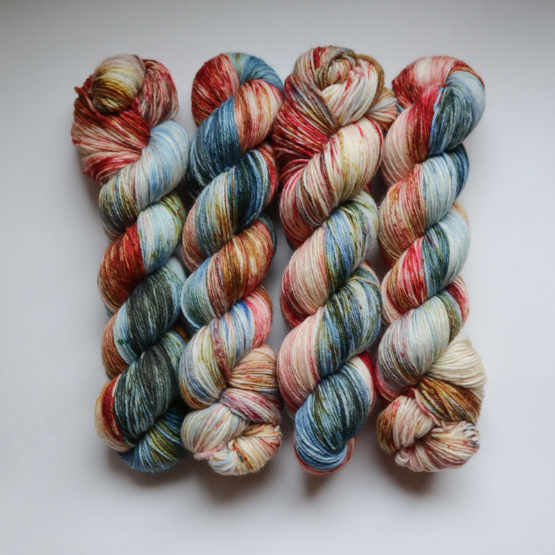 梅干し - Superwash Merino Nylon Sock