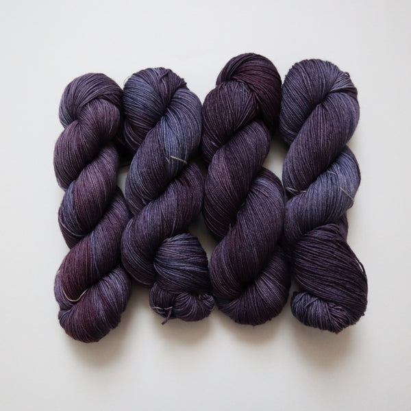 Shiso on Superwash Merino Nylon Sock