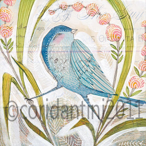 Cori Dantini - Blue bird - Limited edition print