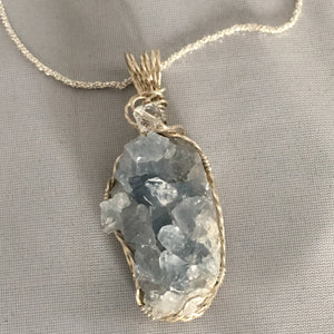 Sequim Artisan - Quartz crystal in natural state - necklace