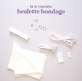 Kit de materiales Bralette Bondage