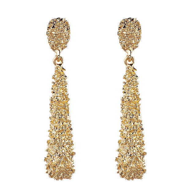 Fancy Long Dangle Earrings