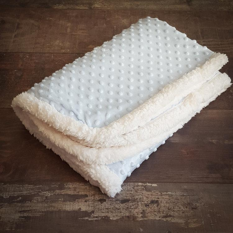 Winter Blanket - Heavenly blue - Mamastore