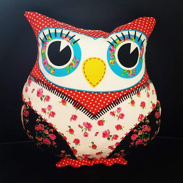 Bubo the Cuddly Owl - Happy colors - Mamastore