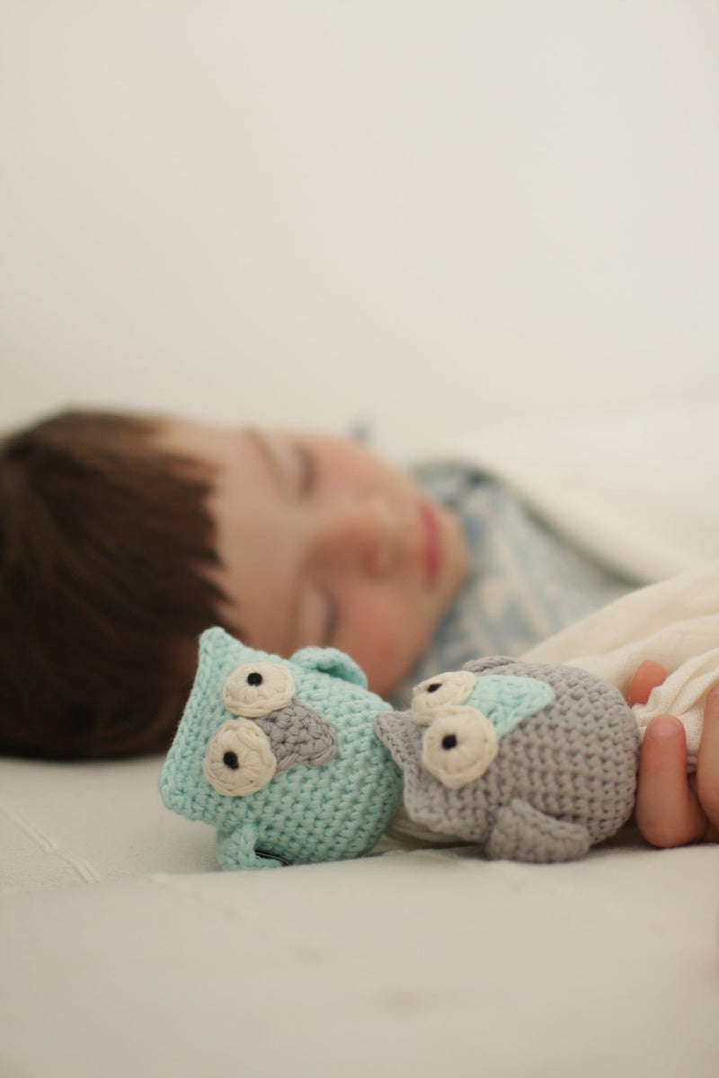 Comfort Toy - Silver owl - Mamastore