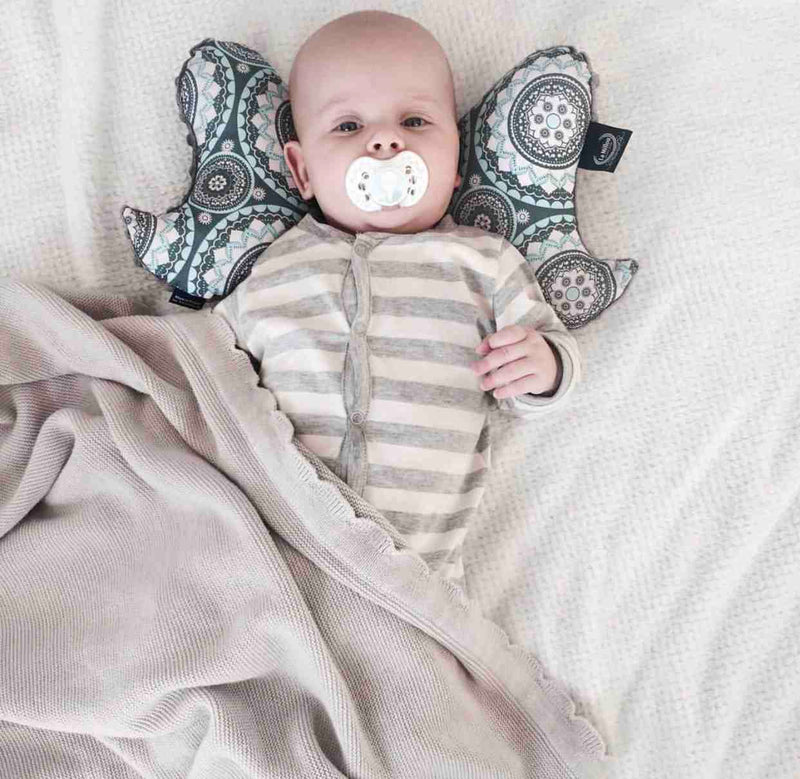 Anti-shock baby pillow - Forest ecru - Mamastore