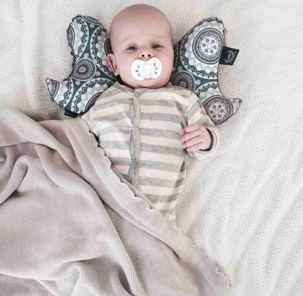 Anti-shock baby pillow - Boho royal arrows grey - Mamastore
