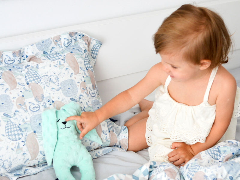 Comfort Toy - Audrey mint boho girl