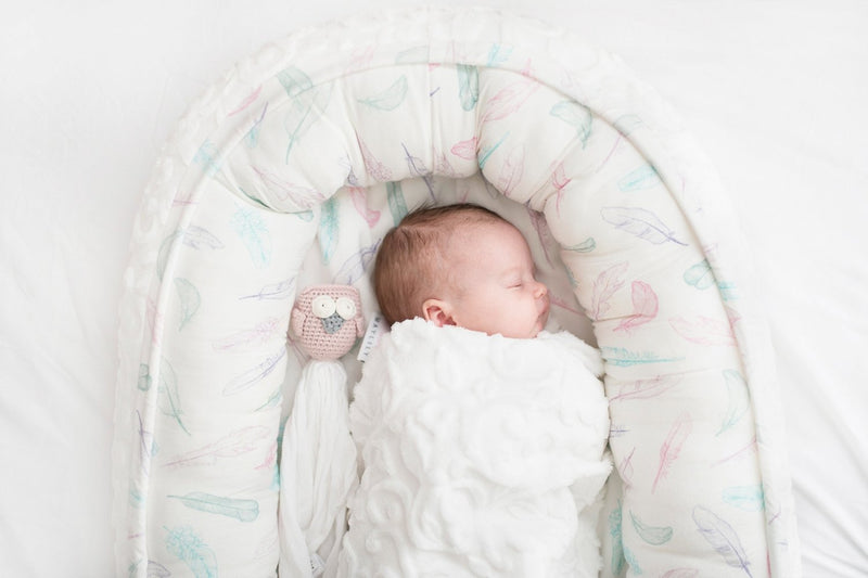 Babynest - Pink feathers - Mamastore