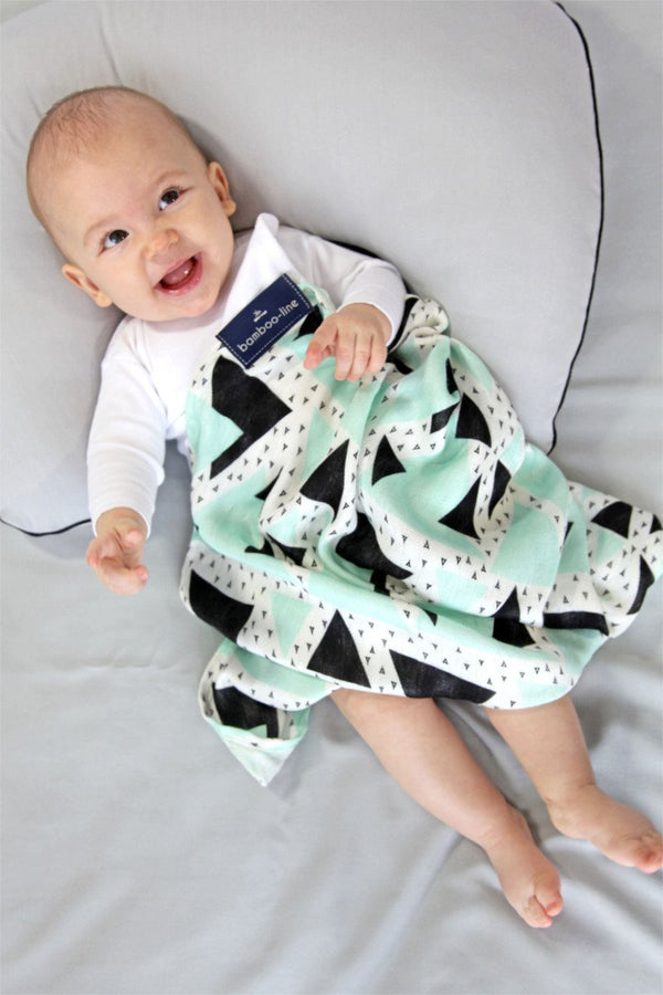Multi-use bamboo muslin - Mint - Mamastore