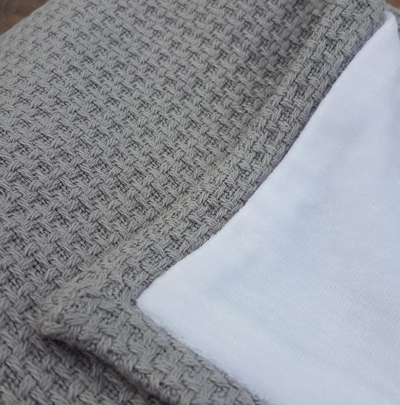 Cuddly baby blanket - Soft stone collection grey - Mamastore