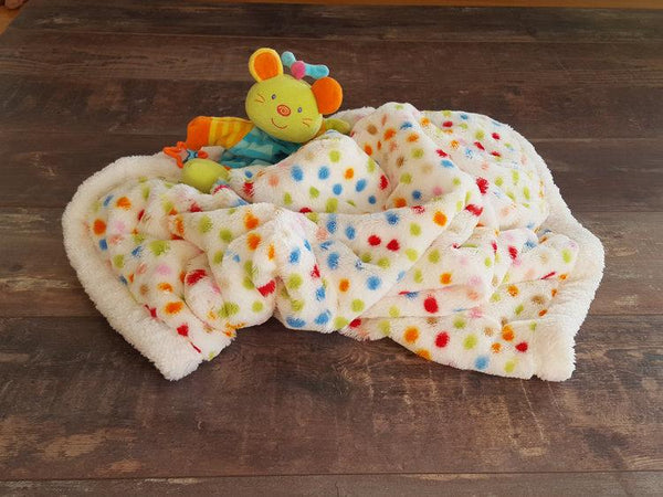 Winter Blanket - Dotty dots - Mamastore
